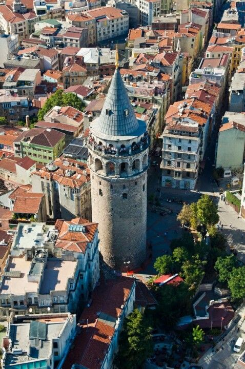 Galata Tower - İstanbul,Turkey.  I was amazed the first time I climbed this - the view was incredible.