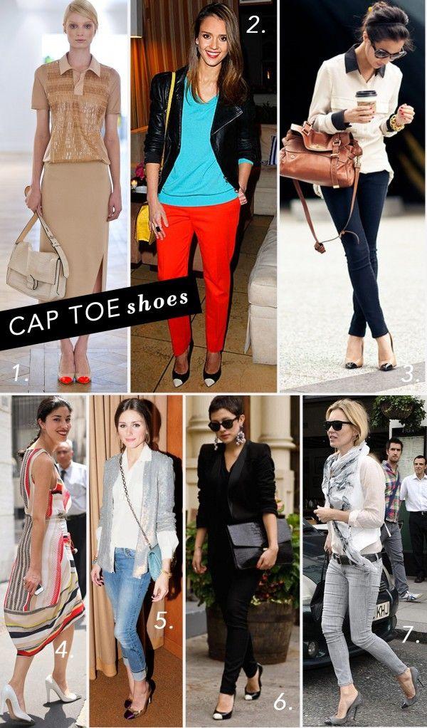 Style File: Cap Toe Shoes
