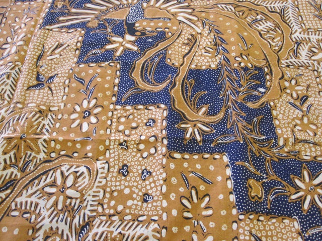 Vintage Indonesian Batik Fabric