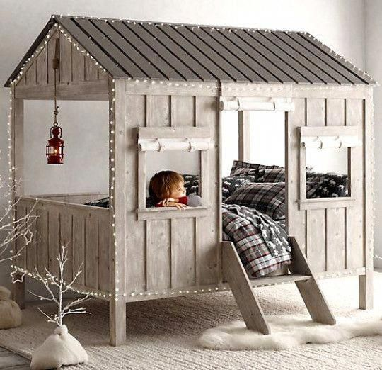 Bed Cabin   – kids bedroom ideas