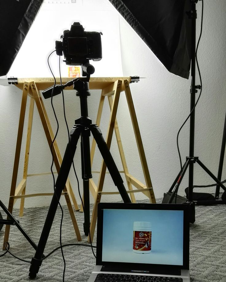A little product photography setup