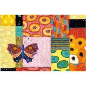 tapis PAPILLON colorfull moment 75x120 cm