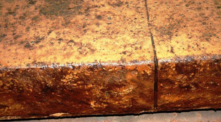 Bordillo de hormigón estampado de bajo espesor con ankare tian envejecido
