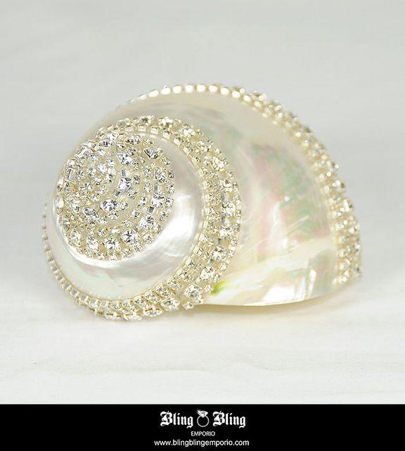 Swarovski Rhinestones | Swarovski Crystals Sea Shell | Flickr - Photo Sharing!