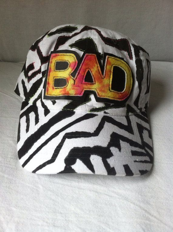 Black & White BAD Hat by ALIENS of BROOKLYN