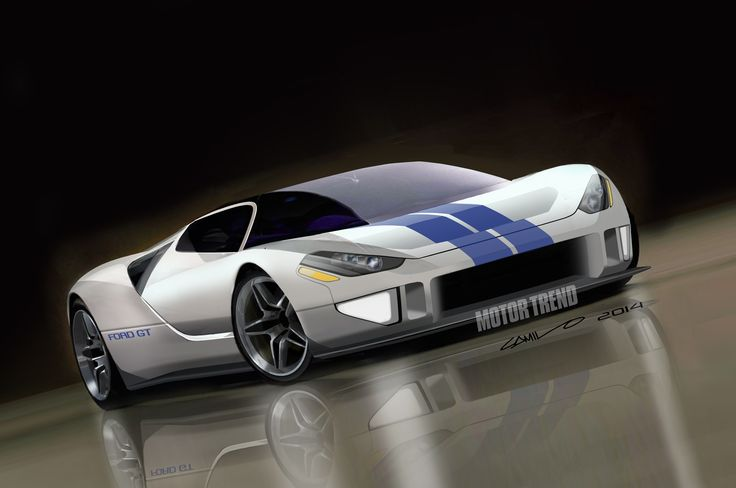 In this future Ford GT First Look, Motor Trend spills the details on the upcoming mid-engine supercar coming to the Detroit show -- with exclusive renderings.