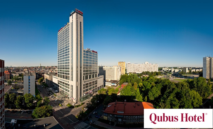 "Qubus Hotel Katowice - first place in the ""4* and 5* hotels in Silesia and the third place in Poland in the ""For business"" category on rezerwuje.com."
