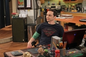 The Big Bang Theory - clever humour and well worth watching!