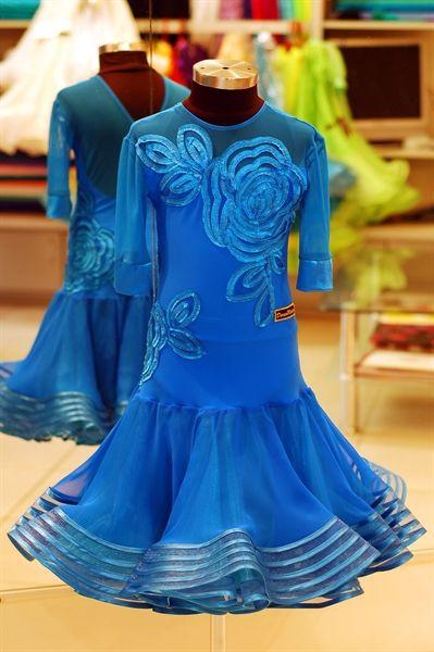 Модели - DanceModern - Детские рейтинговые платья для бальных танцев