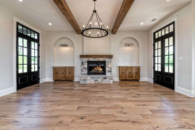 Cresson Court Old Home Remodel Farm House Living Room Home Remodeling