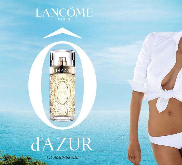 Ô d'Azur, el perfume fresco de Lancôme - http://www.efeblog.com/o-dazur-el-perfume-fresco-de-lancome-15499/