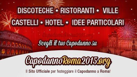 Le migliori ville di Roma dove poter trascorrere il veglione di Capodanno 2015 a Roma! Visita subito la pagina e scegli la villa che fa per te.