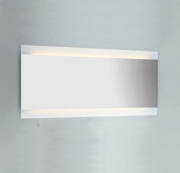 13 best illuminated bathroom mirrors images on pinterest bathroom buy astro fuji wide 1250 2 light mirror finish bathroom mirror switched online via lighting at home the uks premier online lighting retailer aloadofball Choice Image