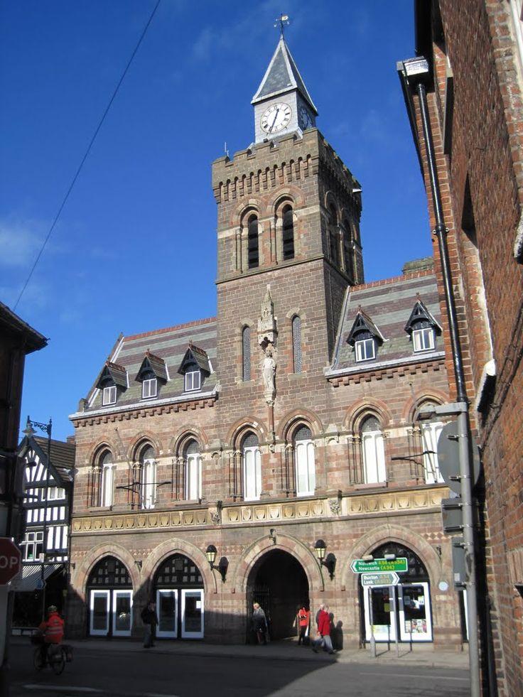 Congleton Town Hall, E. W. Godwin.