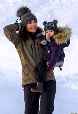 """Résultat de recherche d'images pour """"crown princess mary of denmark winter style"""""""