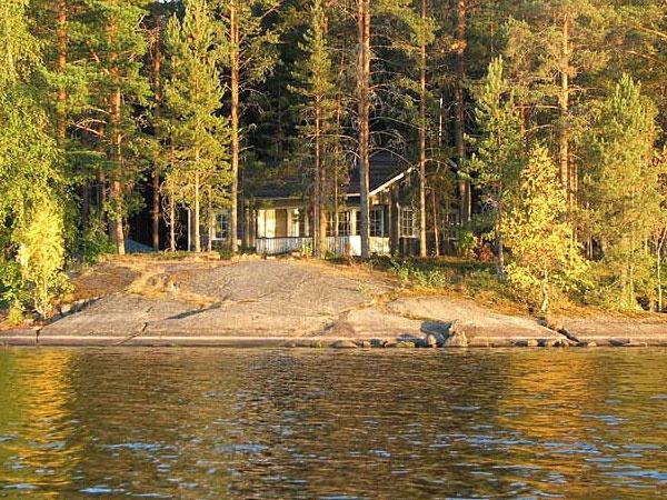 Cottage holiday at Lomamokkila. Savonlinna, Finland.