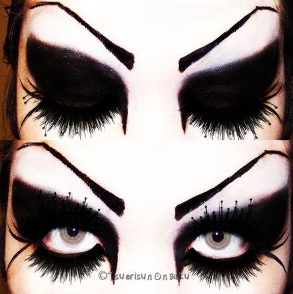 Gothic Eye Makeup Styles Makeupview