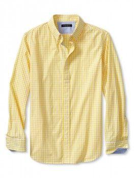 Banana Republic Soft Wash Gingham Shirt worn by Tucker Dobbs on Baby Daddy. Shop it: http://www.pradux.com/banana-republic-soft-wash-gingham-shirt-28276?q=s58