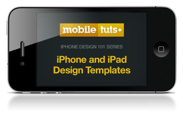 iPhone 4 Design templates