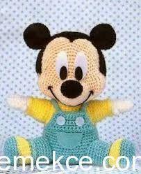 Amigurumi Bebek Micky Mouse Yapımı