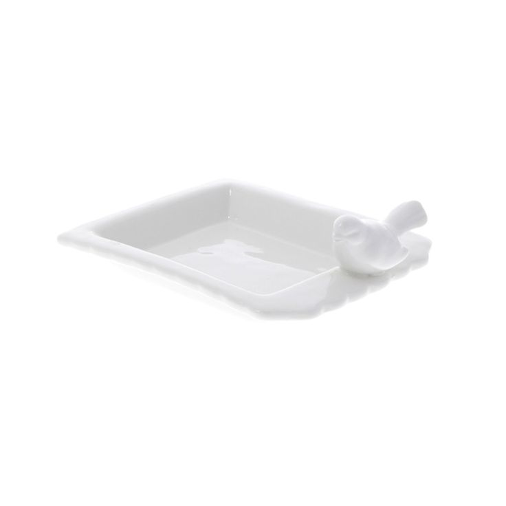 White bird soap dish   Stocking fillers for adults   Natural History Museum Online Shop
