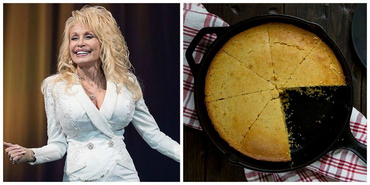 We Can't Get Enough of Dolly Parton's Skillet Cornbread Recipe