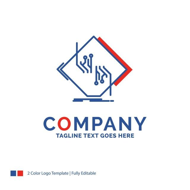 Chip Circuito Nombre De La Empresa De Diseño De Logotipo Para La Junta Elec Red Diseño De Logotipos Plantillas De Logotipo Empresas De Diseño