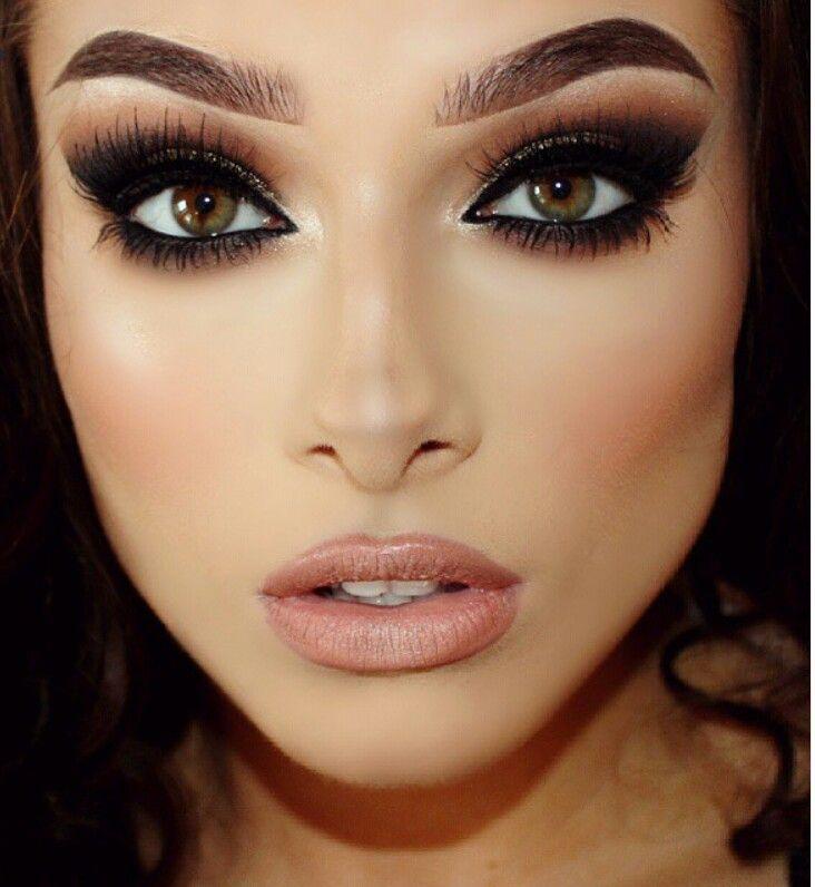 Resultado de imagem para dramatic makeup