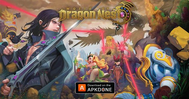 World Of Dragon Nest Apk 1 2 2 Download Free For Android Dengan