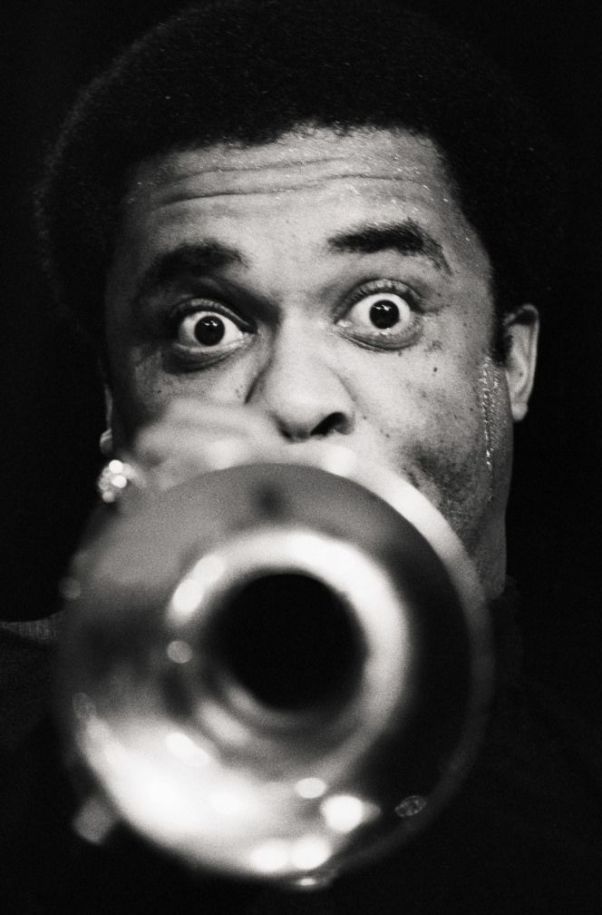 Freddie Hubbard! Need to remember to raise those eyebrows on those high notes!