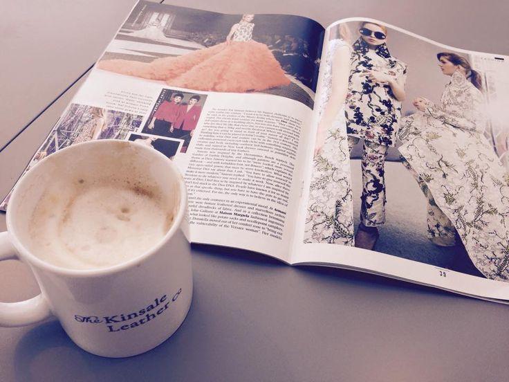 Sunday reading #TheTimes #KinsaleLeather #Nespresso