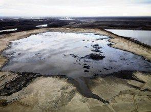 Alberta Oil Sands #2, Tailings