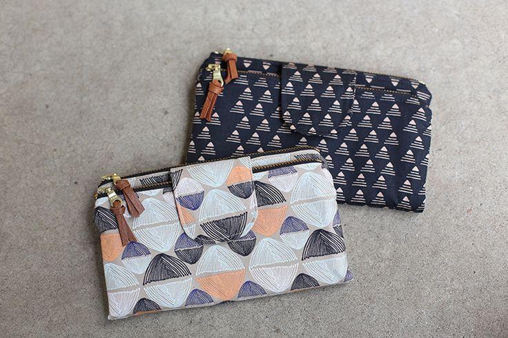 Double Zip Wallets // Handmade Style - Noodlehead