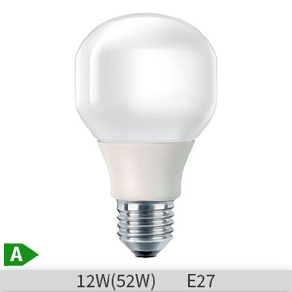 Bec economic Philips Softone, forma standard, E27, 12W, 10000 ore, lumina rece http://www.etbm.ro/becuri-economice