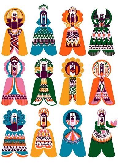 Illustration / Sanna Annukka Illustration | MONOmoda — Designspiration