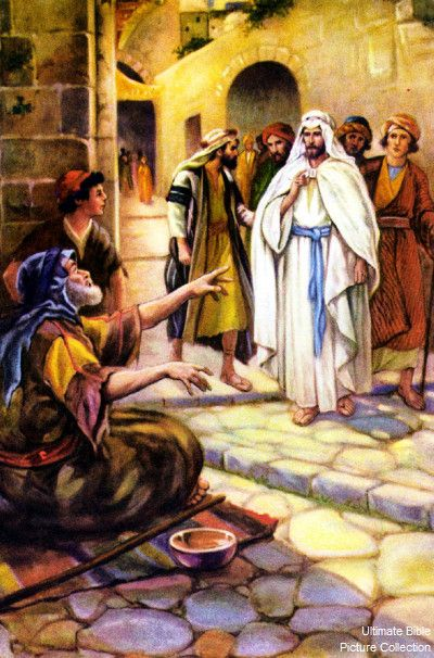 The Miracles of Jesus Christ: Healing Blind Bartimaeus