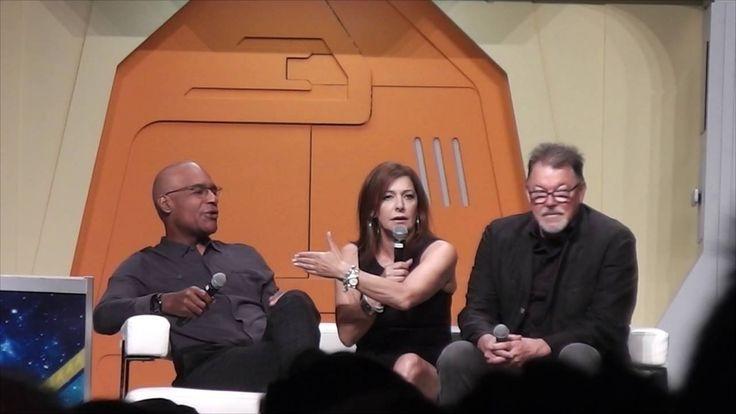 Star Trek Las Vegas Convention 2016 - TNG Panel: Jonathan Frakes, Marina Sirtis, Michael Dorn