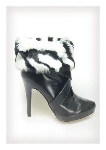 Zebra Faux Fur