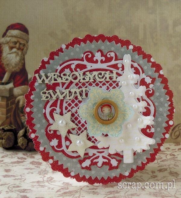 kartka świąteczna  http://www.hurt.scrap.com.pl/category/tekturki