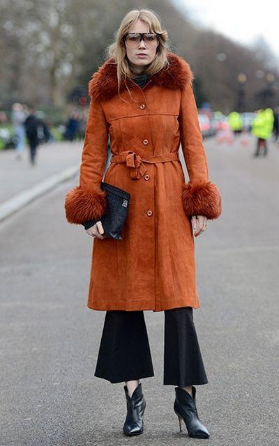 Стритстайл Недели моды в Лондоне