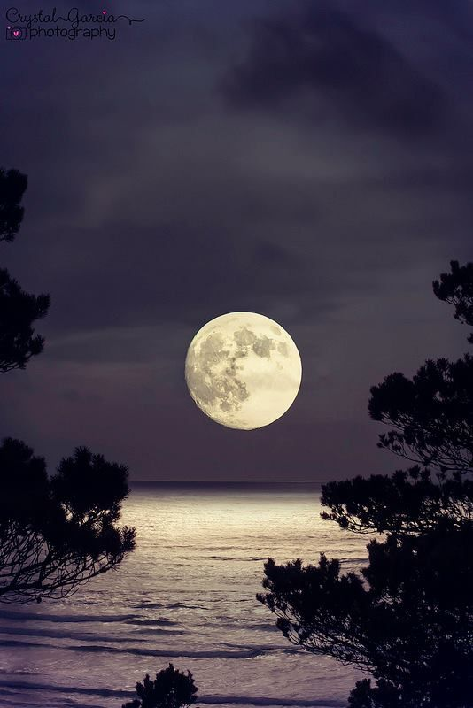 Super full moon, Summer Solstice, Weekend of June 22-23, 2013, Cloverdale, Oregon, USA http://flic.kr/p/eTcrYc