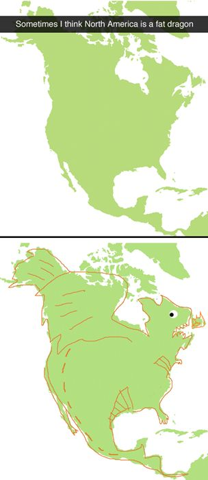 I will never look at North America the same again....