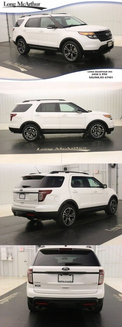 SUVs: 2015 Ford Explorer 4X4 Sport Awd Suv Nav Sunroof Msrp $50485 Port Tuned Suspension Blind Spot Monitoring System Remote Start Sport Wheels -> BUY IT NOW ONLY: $34917 on eBay!