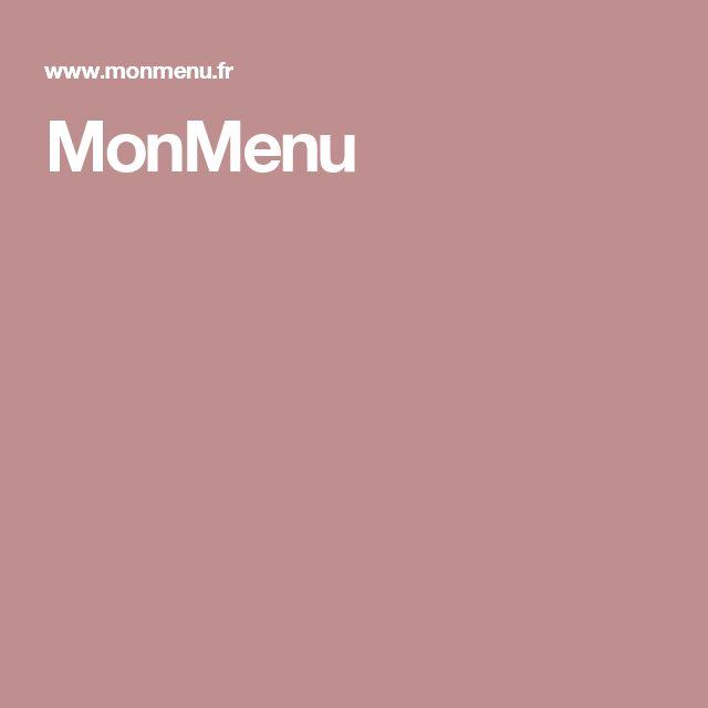 MonMenu