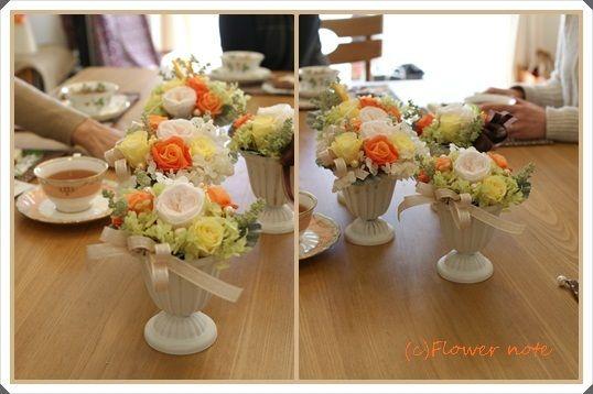 【裏メニュー?!】1月の小さなお花の教室