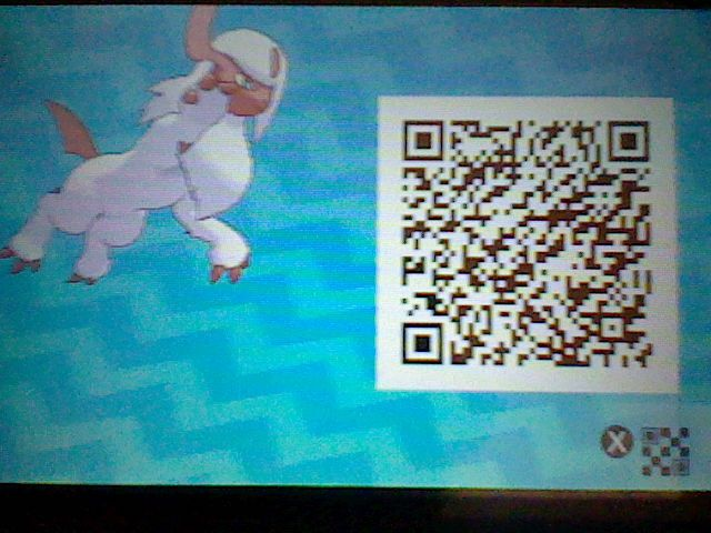 Lady, My Shiny Lv.100 Absol! (& my Favorite Pokemon!). Hailing from Alpha Sapphire, Here's her Sun / Moon QR Code!