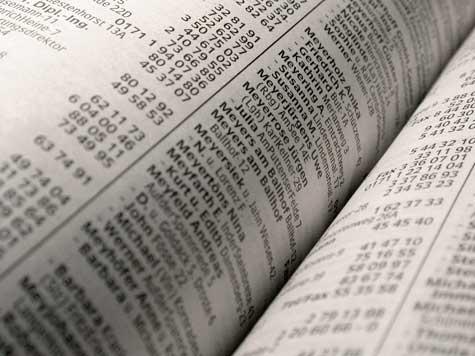 Telefonbuch - Datenschutz im letzten Jahrhundert: Name, Adresse, Familienstand, Beruf, alles zu finden in DEM Buch der Bücher. Das Date der letzten Nacht stand glücklicherweise auch drin... :-)