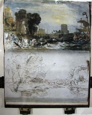 Carnet de croquis de Turner