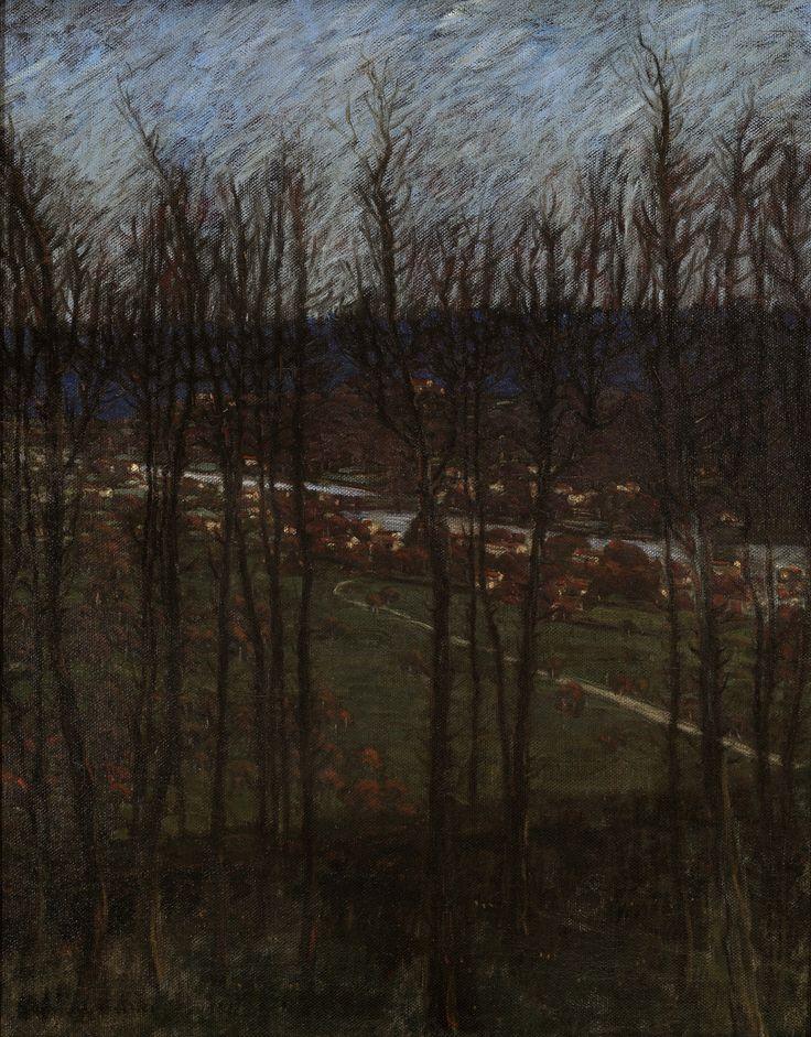 Benno Becker (German, 18601938) The Lower Bavarian View