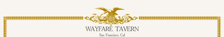 Tyler Florence's new restaurant in San Francisco.  Yummy